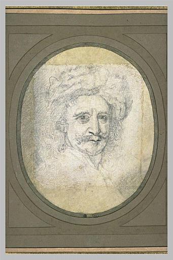 Portrait d'après Mignard, de Pierre Dupuis
