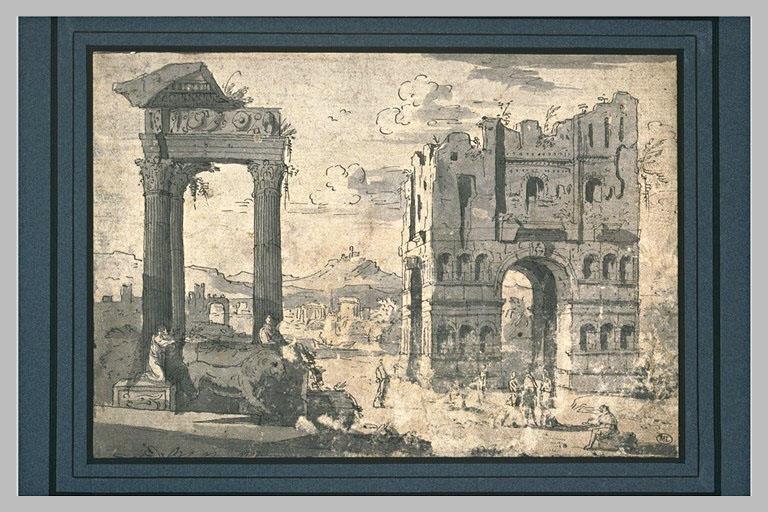Ruines des monuments antiques