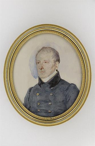 MIRBEL Lizinka Aimée Zoé de : Portrait du baron Gérard