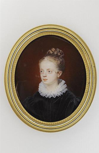 MIRBEL Lizinka Aimée Zoé de : Portrait de jeune fille