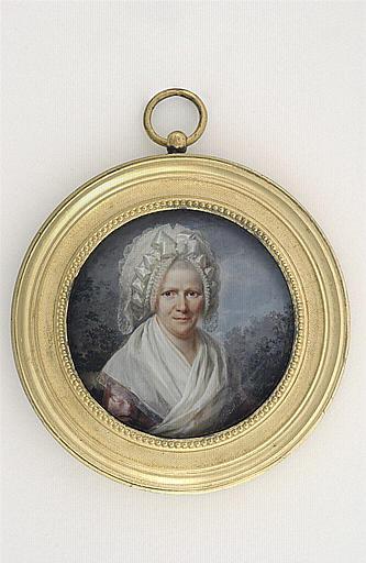 PERIN-SALBREUX Lié Louis : Portrait de Madame Gavet Périn, soeur de l'artiste