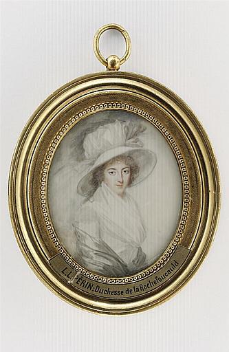 Portrait de Mme la Duchesse de La Rochefoucault_0
