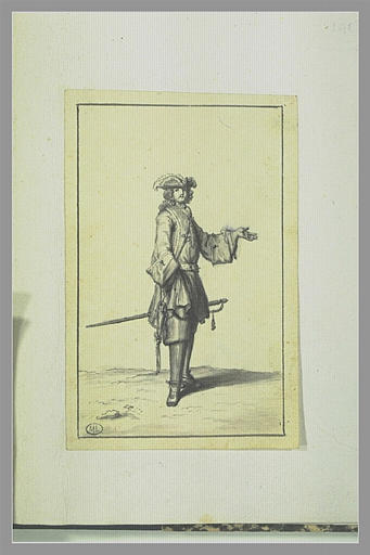 PICART Bernard : Mousquetaire du Roy
