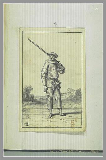 Jean-Joseph Geratone dit Pierrot dans le personnage de Pierrot, ...