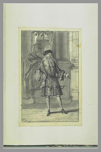 Jean-Baptiste Constantin dit Octavio dans le personnage d'Octavio de la...