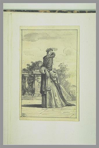 Catherine Biancollelli, dite Colombine dans le personnage de Colombine de...