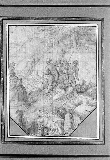 Zénobie pleurant la mort de son époux au combat