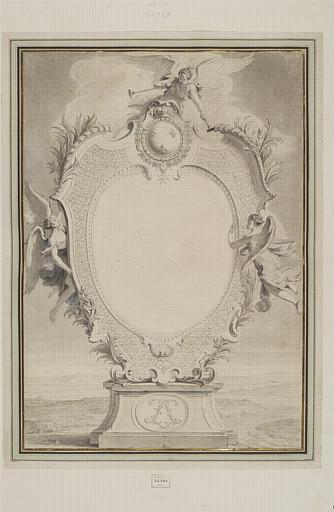 Frontispice du sacre de Louis XV_0