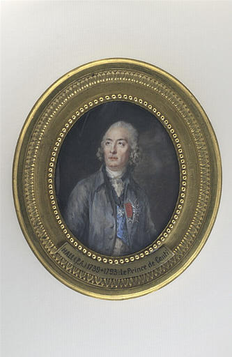 HALL Per Adolf : Portrait du Prince de Conti