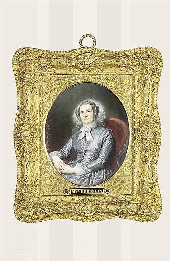 Mme Andryane dans un fauteuil, âgée