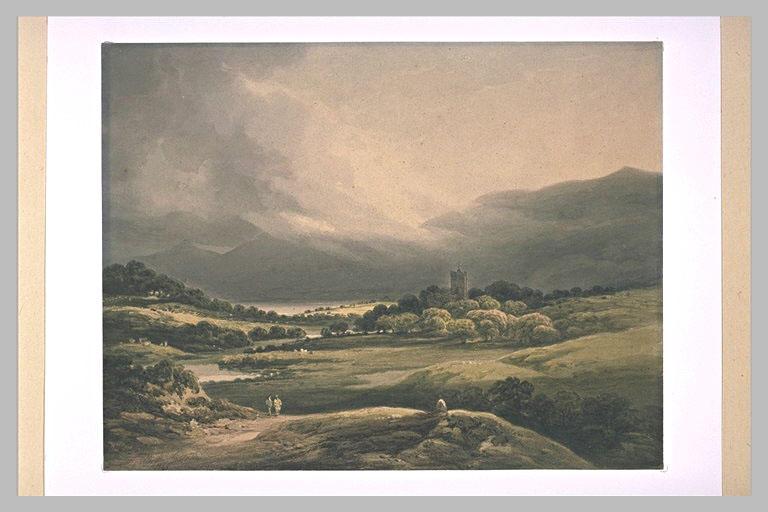 Le château de Dunla, lac supérieur de Killarney