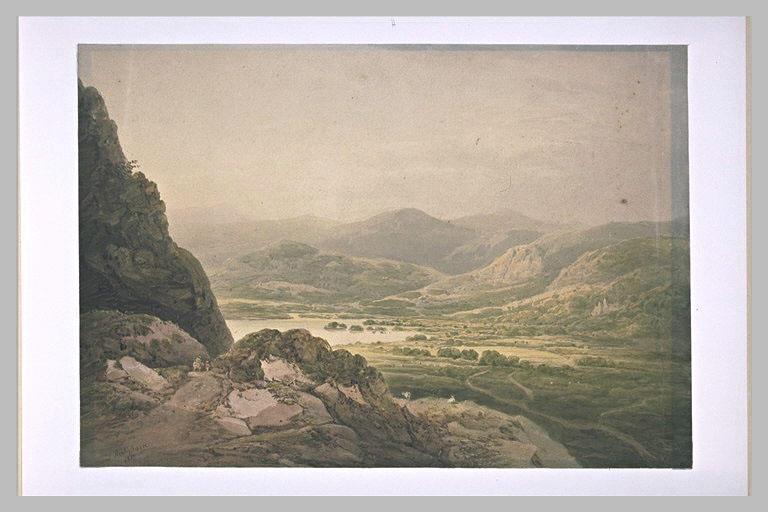 Vue des lacs de Killarney