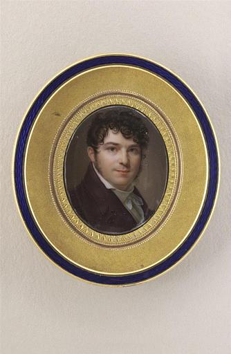 AUGUSTIN Jean-Baptiste Jacques : Autoportrait