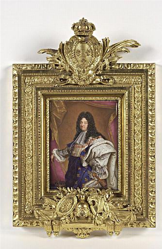 BOIT Charles, RIGAUD Hyacinthe (inspiré par) : Louis XIV revêtu de ses habits royaux