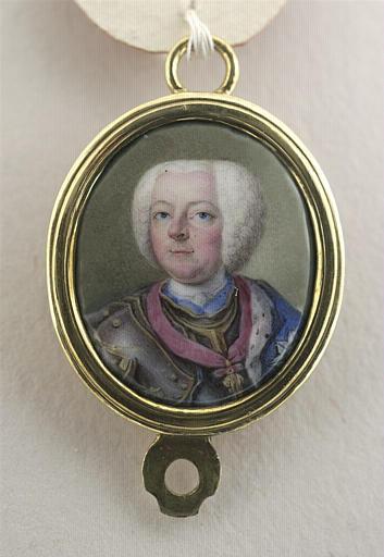 Portrait d'un guerrier, couvert d'une cuirasse