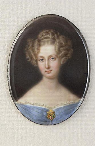 Portrait de Louise-Marie d'Orléans, reine des Belges