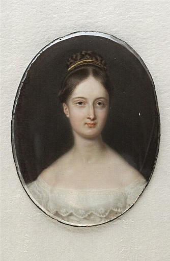 DUCHESNE Charles Jean-Baptiste Joseph : Portrait de la princesse Marie d'Orléans