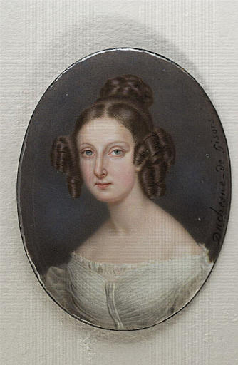 Portrait de la princesse Clémentine d'Orléans