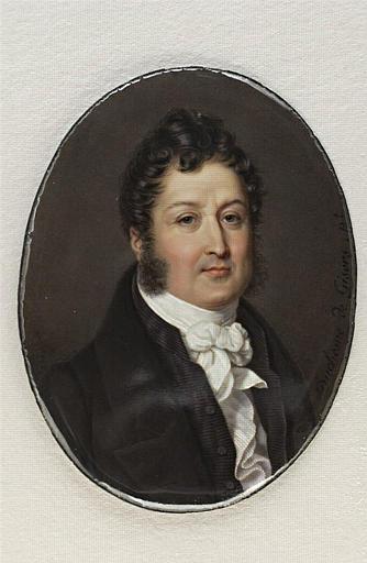 DUCHESNE Charles Jean-Baptiste Joseph : Portrait de Louis-Philippe Ier, roi des Français