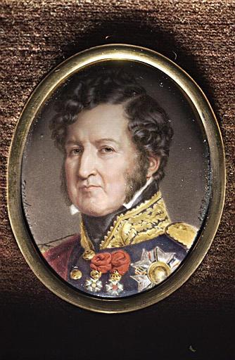 Portrait du roi Louis Philippe d'après Winterhalter