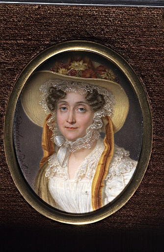 Portrait de la reine Marie Amélie, d'après Winterhalter_0