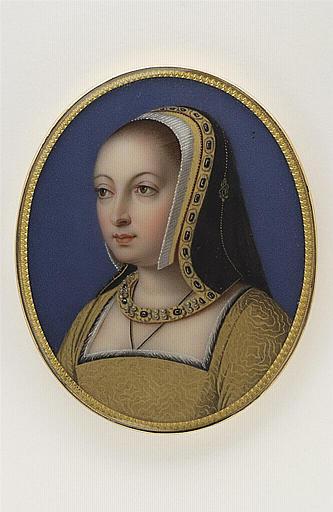 Portrait d'Anne de Bretagne, d'après un maître du XVIè siècle_0