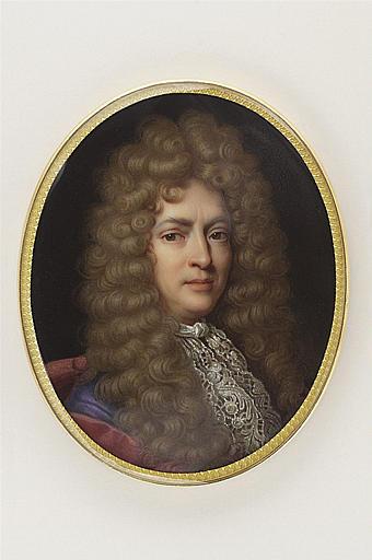 JAQUOTOT Marie Victoire, RIGAUD Hyacinthe (inspiré par) : Portrait de Jean de la Bruyère, d'après Rigaud