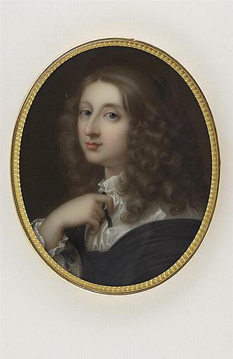 JAQUOTOT Marie Victoire, BOURDON Sébastien (inspiré par) : Portrait de Christine, reine de Suède
