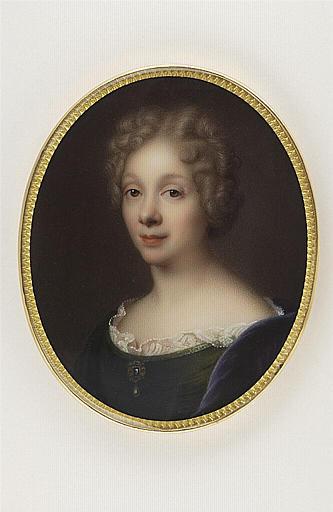 JAQUOTOT Marie Victoire, PILES Roger de (inspiré par) : Portrait de Madame Dacier