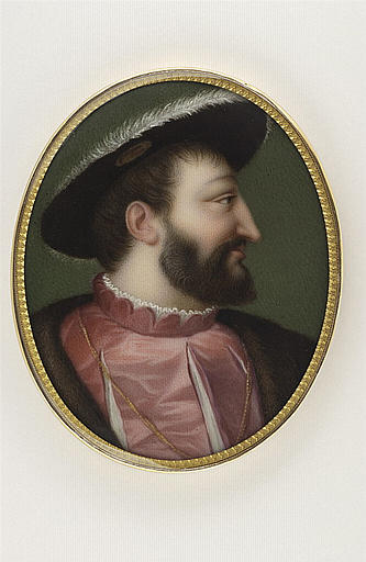 JAQUOTOT Marie Victoire, VECELLIO Tiziano (inspiré par), LE TITIEN (dit, inspiré par) : Portrait de François Ier