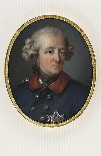 JAQUOTOT Marie Victoire, VAN LOO Carle (inspiré par) : Portrait de Frédéric II, roi de Prusse