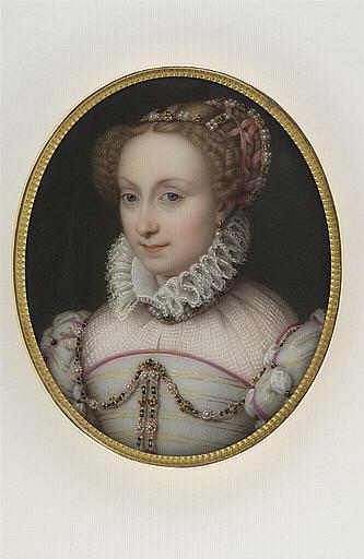 JAQUOTOT Marie Victoire, CLOUET Jean (inspiré par) : Portrait de Jeanne d'Albret