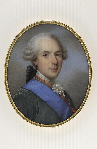JAQUOTOT Marie Victoire, ROSLIN Alexandre (inspiré par) : Portrait de Louis dauphin de France, fils de Louis XV