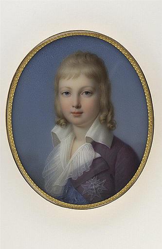 Portrait de Louis dauphin de France, deuxième fils de Louis XVI