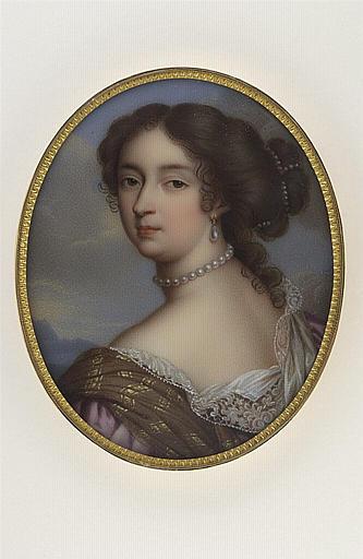 Portrait de Françoise d'Aubigné, marquise de Maintenon