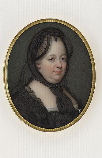 JAQUOTOT Marie Victoire : Portrait de Marie Thérèse, impératrice d'Autriche