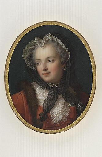 JAQUOTOT Marie Victoire, NATTIER Jean Marc (inspiré par) : Portrait de Marie Leczinska, reine de France