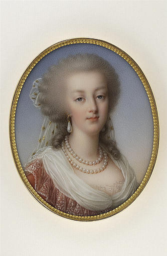 JAQUOTOT Marie Victoire, VIGEE-LE BRUN Elisabeth Louise (inspiré par) : Portrait de Marie-Antoinette