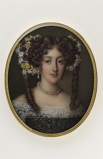 Portrait d'Hortense Mancini