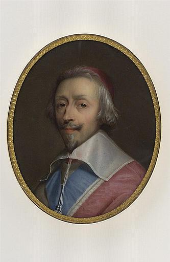 JAQUOTOT Marie Victoire, CHAMPAIGNE Philippe de (inspiré par) : Portrait du cardinal de Richelieu
