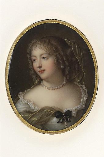 JAQUOTOT Marie Victoire, MIGNARD Pierre (d'après) : Portrait de Marie Rabutin-Chantal, Marquise de Sévigné