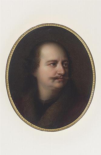 JAQUOTOT Marie Victoire, anonyme (inspiré par) : Portrait de Pierre le Grand, d'après un maître hollandais