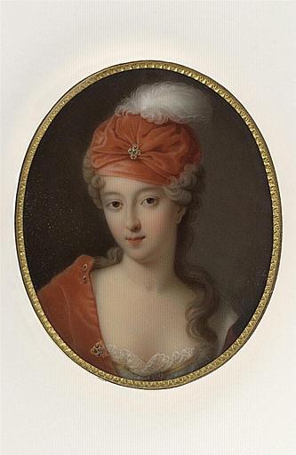 JAQUOTOT Marie Victoire : Portrait de Mademoiselle Blois
