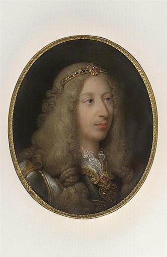 Portrait en buste du grand Condé