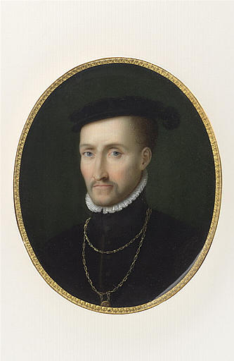 Portrait de Henri d'Albret, roi de Navarre, père de Henri IV