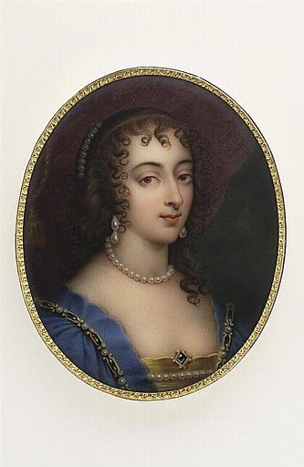 Portrait de Henriette Marie de France, seconde fille de Henri IV_0