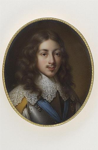 JAQUOTOT Marie Victoire, CHAMPAIGNE Philippe de (inspiré par) : Portrait de Gaston d'Orléans, deuxième fils de Henri IV, frère de Louis XIII