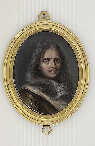 WEYLER-KUGLER Louise : Portrait de Turenne en buste