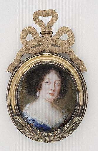 PETITOT Jean le Vieux : Portrait présumé de la duchesse de Montbazon