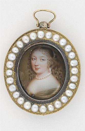 Portrait présumé de la princesse Palatine